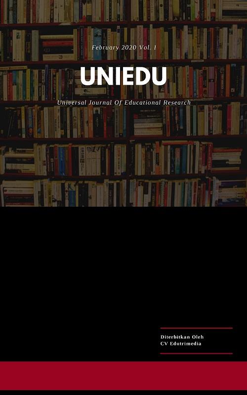 UNIEDU: Universal Journal Of Educational Research